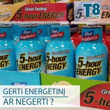 Ar gerti energetinius gėrimus