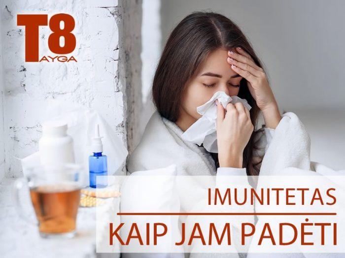 Kaip padėti imunitetui